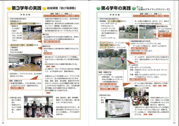 研究関連印刷ーオリンピック&パラリンピックの発表リーフレットです
