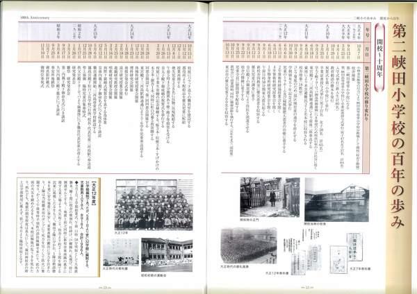 記念誌のあゆみ(歴史)の作成について
